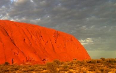 Uluru, červené srdce Austrálie