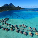 3. Bora Bora, Francouzská Polynésie.