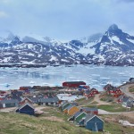 Angmassalik, Severní polární kruh.