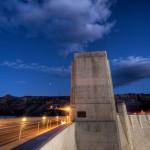 3. Hooverova přehrada, Nevada.