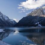 5. Kloentalersee Lake, Švýcarsko.