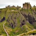 14. Dunnottar, Skotsko.