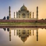 1. Tádž Mahal, Indie.