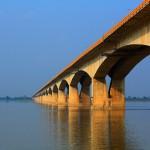 2. Gandhi Setu Bridge, Indie.