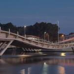 6. Puente de la Barra, Uruguay.