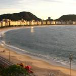 3. Copacabana pláž, Rio de Janiero.