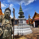 4. Emerald palác, Bangkok, Thajsko.