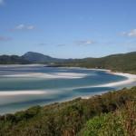 2. Whitsunday Island, Austrálie.